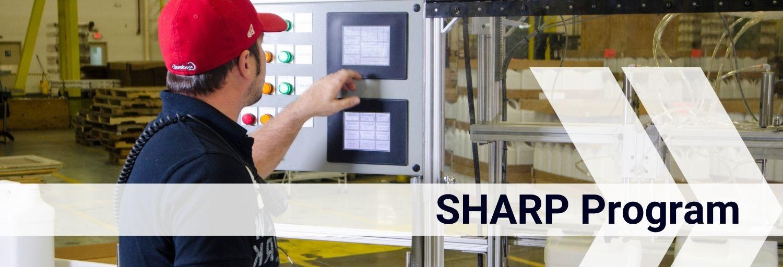 SHARP Safety and Health Achievement Recognition Program Header