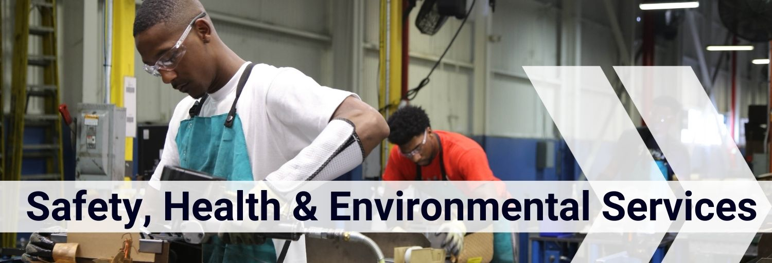 Safety Health and Environmental Services Header
